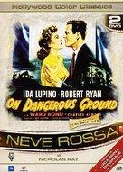 On Dangerous Ground - Italian DVD cover (xs thumbnail)