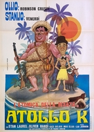 Atoll K - Italian Movie Poster (xs thumbnail)