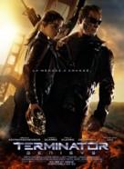 Terminator Genisys - French Movie Poster (xs thumbnail)