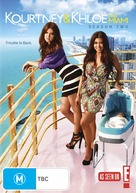 """Kourtney & Khloe Take Miami"" - Australian DVD movie cover (xs thumbnail)"