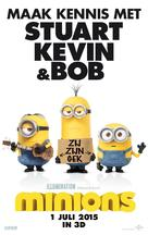 Minions - Dutch Movie Poster (xs thumbnail)