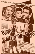 Blondie Meets the Boss - poster (xs thumbnail)