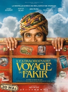 The Extraordinary Journey of the Fakir - French Movie Poster (xs thumbnail)