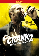 Crank: High Voltage - German Movie Cover (xs thumbnail)