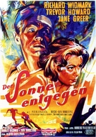Run for the Sun - German Movie Poster (xs thumbnail)