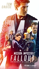 Mission: Impossible - Fallout - Norwegian Movie Poster (xs thumbnail)