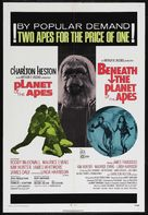 Beneath the Planet of the Apes - Combo movie poster (xs thumbnail)