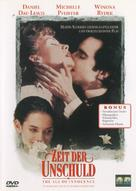 The Age of Innocence - German Movie Cover (xs thumbnail)