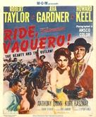 Ride, Vaquero! - Movie Poster (xs thumbnail)