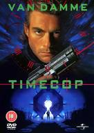 Timecop - British DVD movie cover (xs thumbnail)