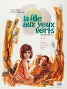 Girl with Green Eyes - French Movie Poster (xs thumbnail)