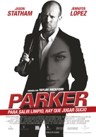 Parker - Argentinian Movie Poster (xs thumbnail)