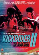 Kickboxer 2 - Danish DVD cover (xs thumbnail)