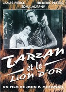 Tarzan and the Golden Lion - French Movie Cover (xs thumbnail)