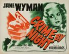 Crime by Night - Movie Poster (xs thumbnail)