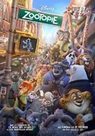 Zootopia - French Movie Poster (xs thumbnail)