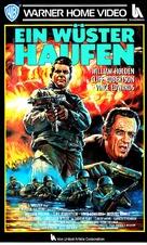 The Devil's Brigade - German VHS movie cover (xs thumbnail)