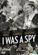 I Was a Spy - British DVD cover (xs thumbnail)