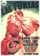 The Furies - Spanish Movie Poster (xs thumbnail)