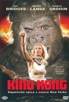 King Kong - Czech DVD cover (xs thumbnail)