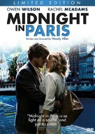 Midnight in Paris - Canadian DVD movie cover (xs thumbnail)