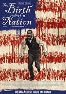 The Birth of a Nation - German Movie Poster (xs thumbnail)