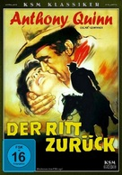 The Ride Back - German DVD cover (xs thumbnail)