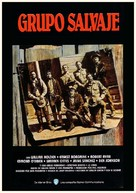 The Wild Bunch - Spanish Movie Poster (xs thumbnail)