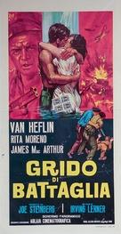 Cry of Battle - Italian Movie Poster (xs thumbnail)