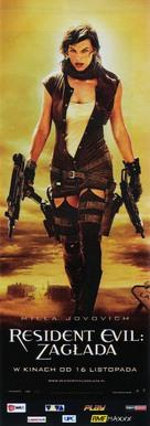 Resident Evil: Extinction - Polish Movie Poster (xs thumbnail)