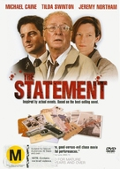 The Statement - New Zealand DVD cover (xs thumbnail)