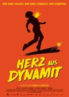 Pólvora en el corazón - German Movie Poster (xs thumbnail)