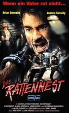 Das Rattennest - German VHS cover (xs thumbnail)