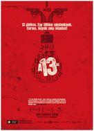 13 Tzameti - Hungarian poster (xs thumbnail)