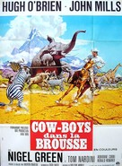 Africa - Texas Style! - French Movie Poster (xs thumbnail)