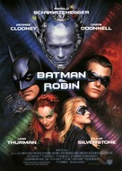 Batman And Robin - Spanish Movie Poster (xs thumbnail)