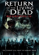 Return of the Living Dead 4: Necropolis - DVD cover (xs thumbnail)