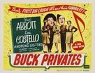 Buck Privates - Movie Poster (xs thumbnail)