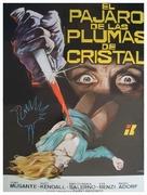 L'uccello dalle piume di cristallo - Spanish Movie Poster (xs thumbnail)