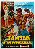 Sansone contro i pirati - French Movie Poster (xs thumbnail)