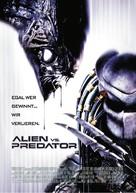 AVP: Alien Vs. Predator - German Movie Poster (xs thumbnail)