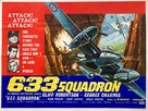 633 Squadron - British Movie Poster (xs thumbnail)