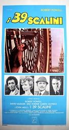 The Thirty Nine Steps - Italian Movie Poster (xs thumbnail)