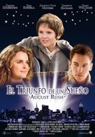 August Rush - Spanish Movie Poster (xs thumbnail)