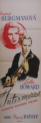 Intermezzo: A Love Story - Czech Movie Poster (xs thumbnail)