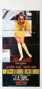 Non faccio la guerra, faccio l'amore - Italian Movie Poster (xs thumbnail)