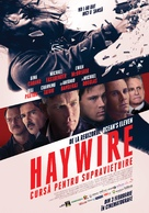 Haywire - Romanian Movie Poster (xs thumbnail)