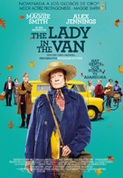 The Lady in the Van - Spanish Movie Poster (xs thumbnail)
