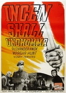 None Shall Escape - Swedish Movie Poster (xs thumbnail)