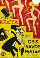 Speak Easily - Swedish Movie Poster (xs thumbnail)